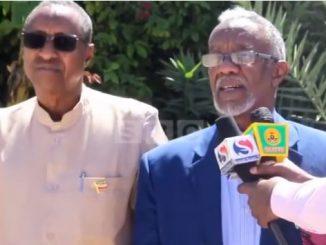 Gudaha:-Wasiirka Arimaha Dibada Somaliland Oo Dalka Ku Soo Laabta Iyo Warbaahinta Uu La Hadlay.