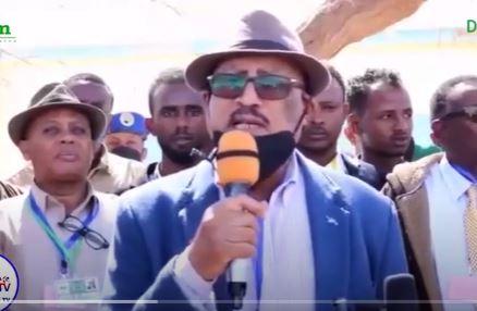 Gudoomiye Faysal Cali Waraabe Oo Booqdey Goobaha Kaadh Qaadasha Ee Burco.