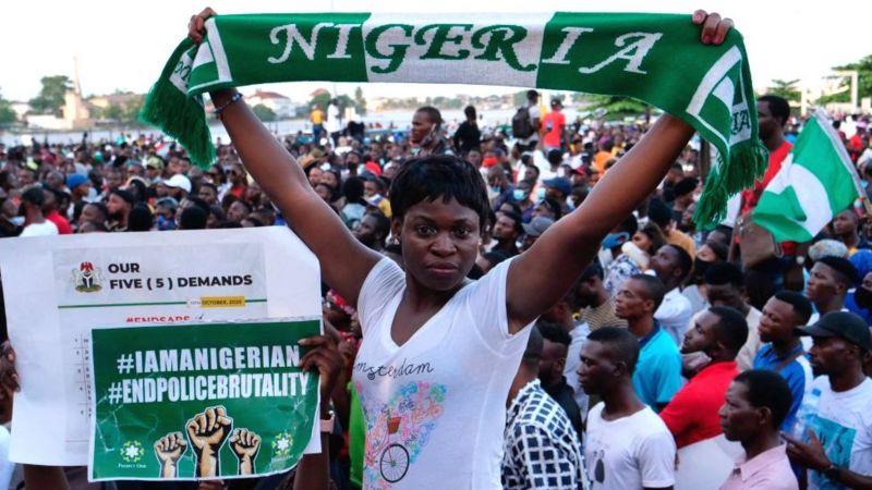 Sida dibadbaxyada lagu dalbanayay in SARS lagu kala diro ay u badaleen Nigeria