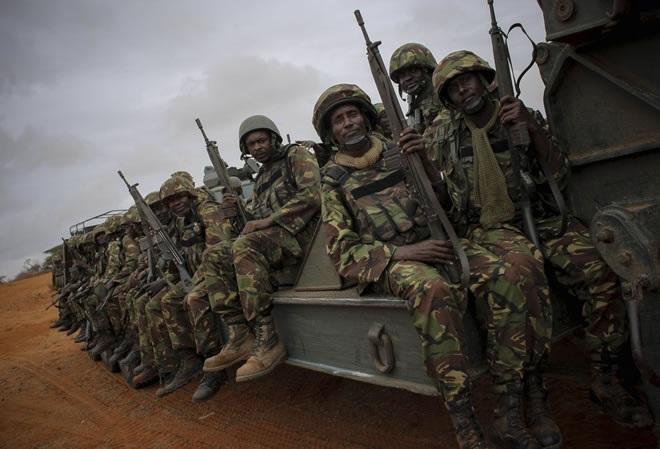Kenya:-Ciidamadda Kenya oo ku weeraray Ceelwaaq xarun ay leedahay shirkadda Hormuud.