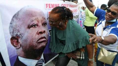 Laurent Gbagbo oo loo diiday inuu madaxtinnimada u tartamo Dalka Ivory Coast