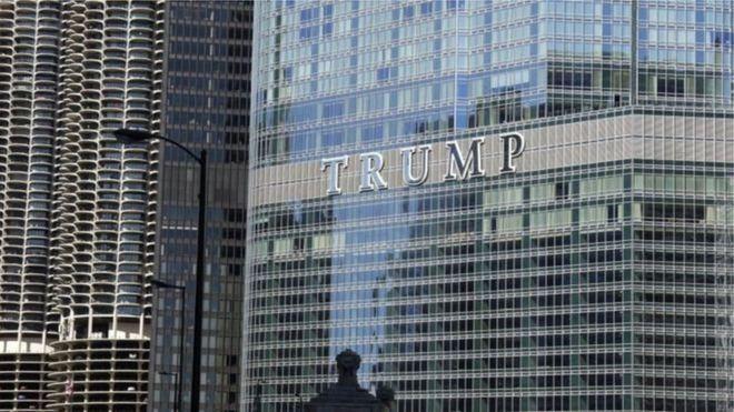 Ilinois:-Gobolka Illinois ee dalka Maraykanka oo dacwaynaya dhisme uu Trump leeyahay.