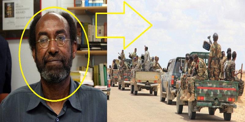 """Gudaha:-""""Hargeysa Qolooyin Baarqab Ah Baa Jooga"""" Prof Abdi Samater Oo Ka Hadley Dagaalka Tuko-raq."""