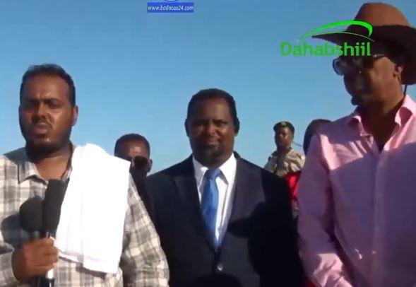 Daawo Taliyaha Ciidanka Xeebaha iyo Maareeyaha Dekedaha Somaliland oo Saylac gaadhay iyo Waxay arkeen