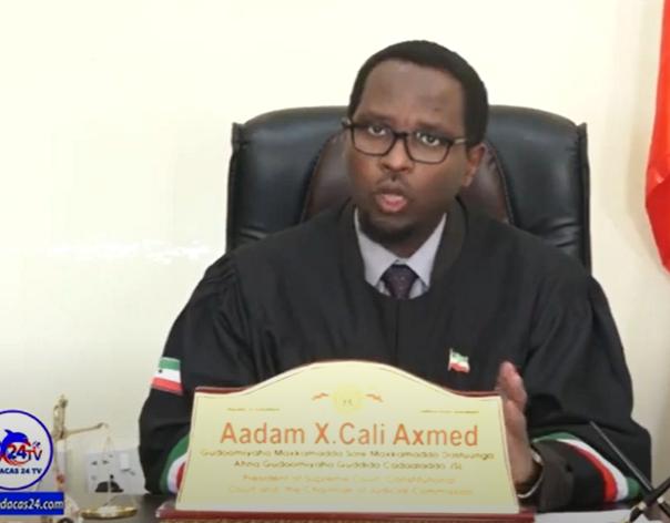 Gudaha:-Barnaamij Somaliland Waa Imisa Tirada Guud Ee Dacwadaha Soo Gaadhey Maxkamadaha Dalka