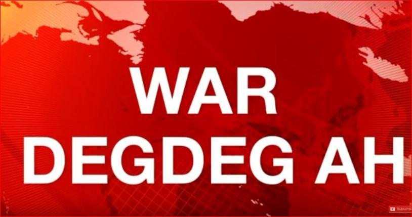 """War Deg Deg Ah:-""""Aniga iyo Selabaan Waxaanu Nahay Labo Maayir Boorama""""Xildhibaan Maxamed Dheerayste."""