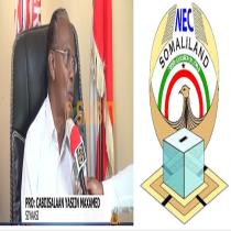 Hargeisa:-Prof Cabdisalaan Yaasiin Oo Ka Hadlay DibU Dhaca Doorashooyinka Somaliland
