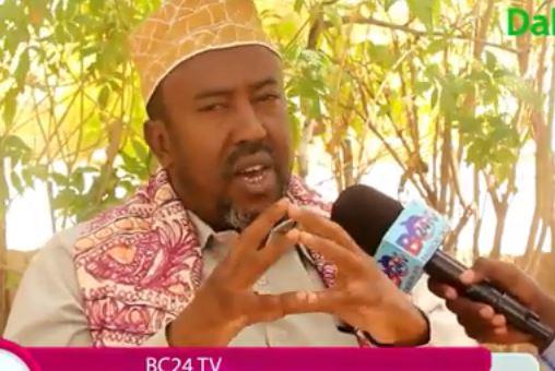 """Hargeisa:-""""Gudida Komoshinka Doorashooyinka Somaliland Waxaan Leeyahay Iscasil Oo Xilka Baneeya""""Suldaan Naasir."""