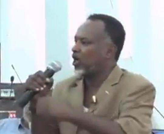 DAAWO:  Guddoomiyaha Guurtida Oo Xilka Laga Qaadayo Iyo  Buuq ku dhashay