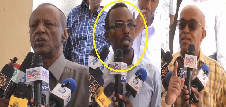 Hargeisa:-Gudida Jogta Ah Ee Golaha Wakiilada Somaliland Oo Kulan La Yeedhay Maareeyaha Wakaalada Biyaha +Arimaha Ay Kala Hadleen.