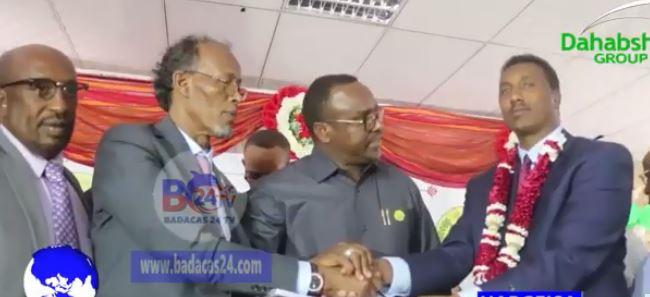 Hargeisa:-Wasiirka Cusub Ee Wasaarada Qorshaynta Somaliland Oo Xilkii La Wareegay.