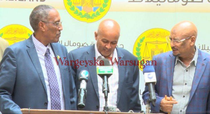 Warbixin Lagu Soo Bandhigay Caqabadaha Hor Yaala Doorashooyinka Soo Socda Ee Somaliland