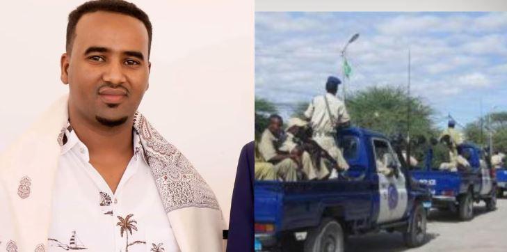 Ciidanka Booliks Somaliland Ayaa Xidhay Gudoomiyaha Tvga Badacas 24 Tv