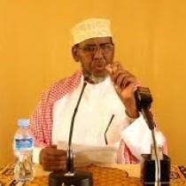 """Hargaysa:-""""Kursiga Ilaahay-baa Bixiya Sabab kasta Qofku Ha ku Yimaadee""""Sh.Aadan-siiro"""