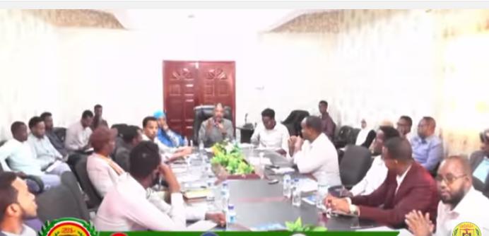 Hargeisa:-Wasaaradda Shaqagalinta Somaliland Oo Furtay Kulan Lagu Dardargalinaayo Shaqo Abuurka Dhalinyarada Somaliland.
