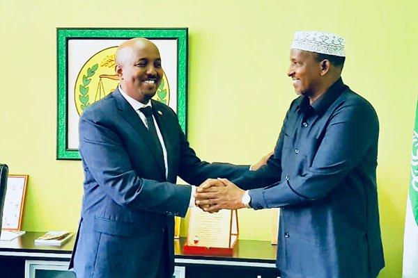 Safiirka Somaliland Ee Kenya Oo Waraysi Dheer Siiyey Wargeyska Daily Nation.