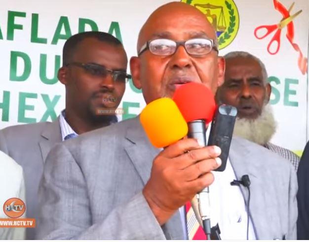 Wajaale: Daawo Wasiirka Waxbarashada Somaliland Oo Xadhiga Ka Jaray Dugsi Cusub oo laga hirgaliyey Tuulo Caaneed
