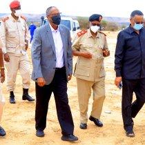 Madaxweynaha Somaliland Oo Ka Qaybgalay Aas Qaran Oo Loo Sameeyey Marxuum jeneral Maxamed Cali Shire.