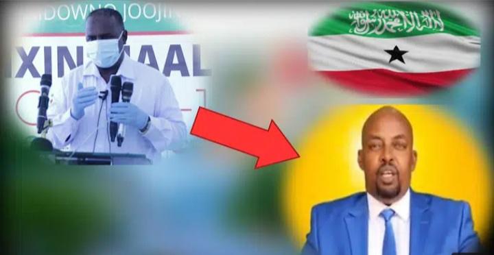 Gudaha:-Somaliland Oo Ruqsadii Shaqo Kala Noqotay Dr.Dhaliilo Usoo Jeediyay Qalabka COVID19