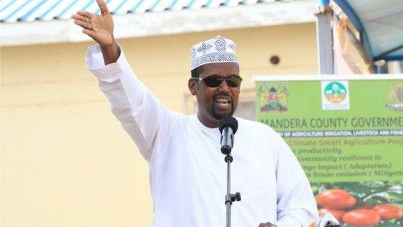 """""""In ka badan 50% jidadka Mandera waxaa maamulo Al-Shabaab""""Cali Rooba"""