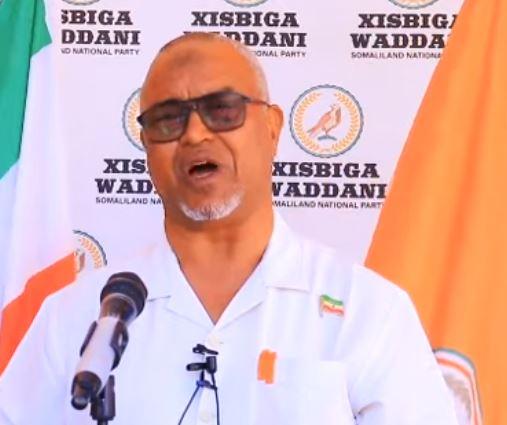 Daawo: Xisbiga WADDANI oo ka hadlay Arrimihii Shirweynaha iyo Wadahadalkii u socday Garabka Xaashi