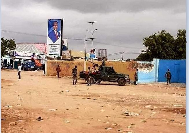 Xaalada Amni Daro Oo Ka Soo Cusboonatay magaalada Dhuusa-mareeb Iyo Ciidamada Somalia Oo La Wareegay Goobo Muhiim ah.