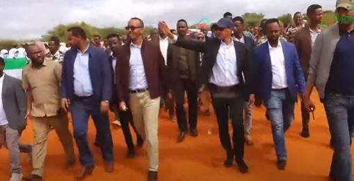 Madaxwaynaha Deegaanka Somalida oo lagu soo Dhaweeyay Buuhoodle.