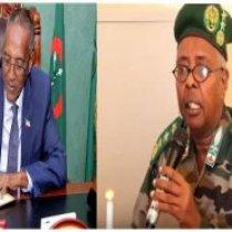 Madaxwaynaha Somaliland Muuse Biixi Cabdi Oo Isku Shaandhayn Ku Sameeyay Taliyeyaasha Ciidamadda Qaranka Somaliland