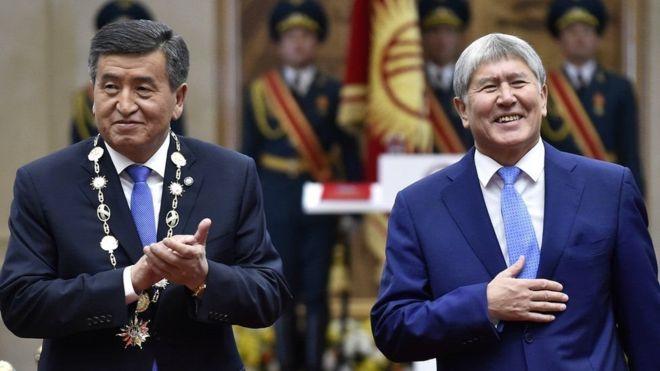Madaxweynihii hore ee Kyrgyzstan oo la soo qabtay