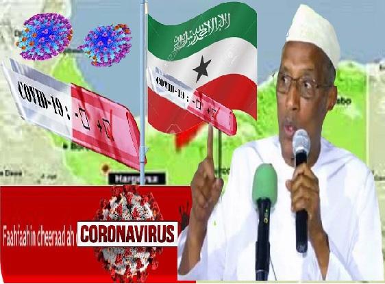 Somaliland Oo Tiradii Ugu Badnayd La Diwaan Galiyay Ee Uu Soo Ritay Xanuunka Covi19+moognanta Xukuumad.