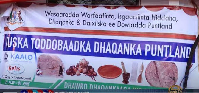 Warbixin: Xidhitaanka Todobaadka Hidaha iyo Dhaqanka ee Garoowe.