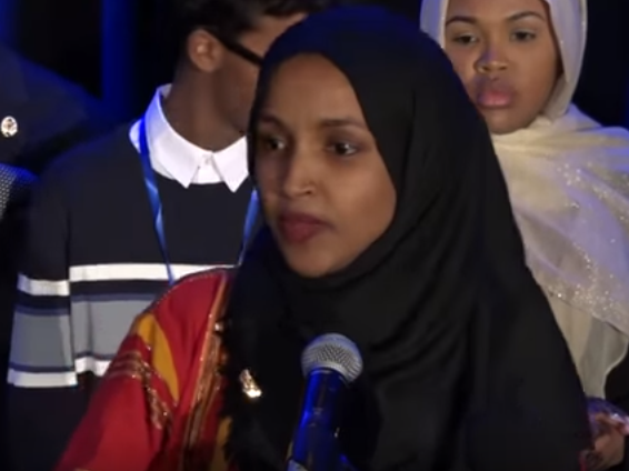 Washington:-Young Muslims Celebrate with First Somali-American in Congress