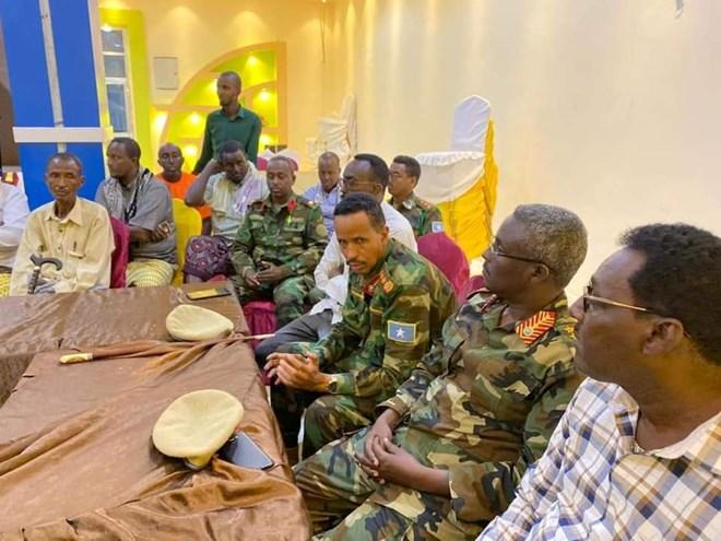 Taliska militariga Soomaaliya iyo odayaal dhaqameed ka wadahadlay colaada gobolka Mudug