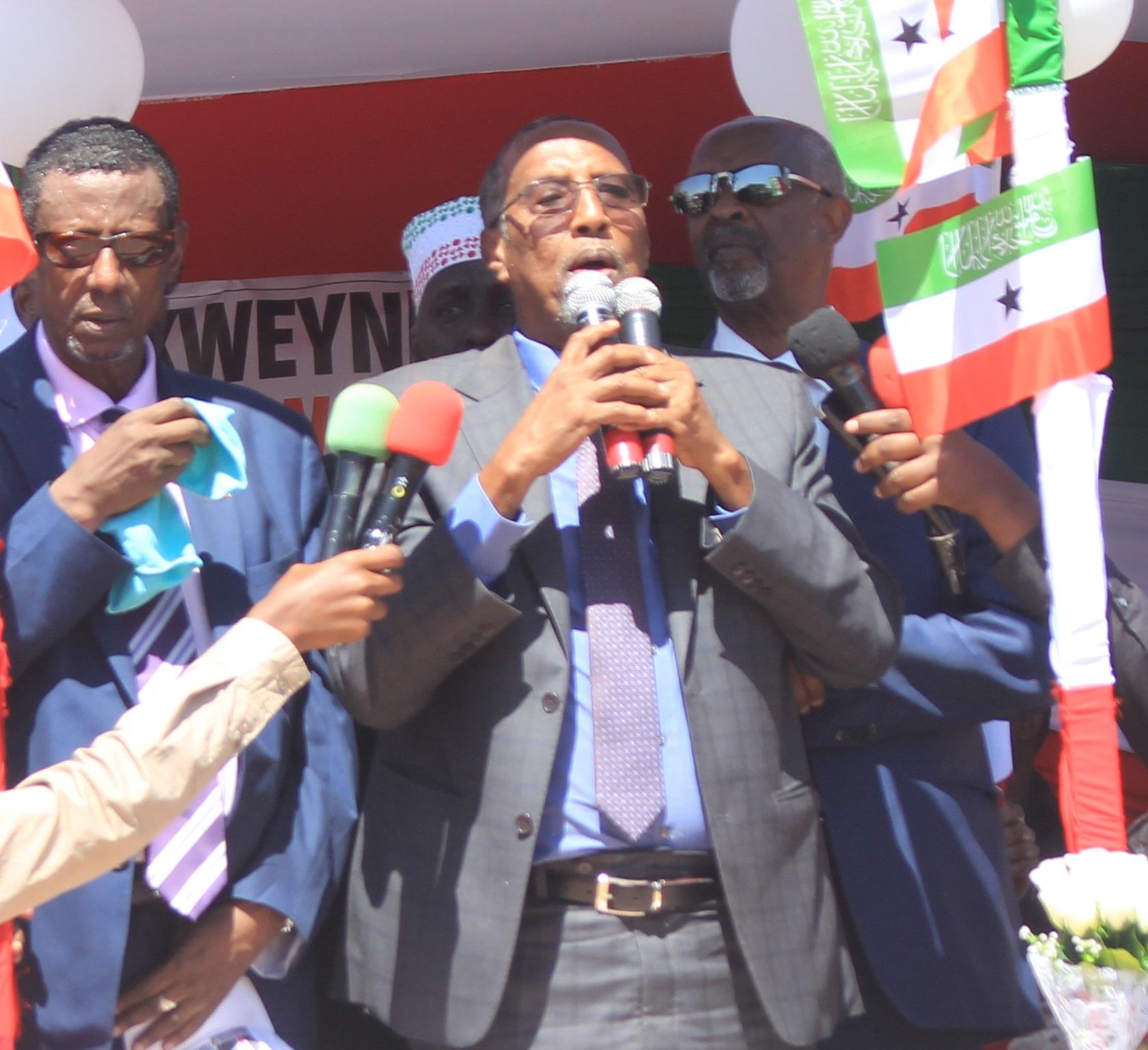 Burco:-Madaxweynaha Somaliland Oo Si Adag Ugu Hadlay Siyaasada Geeska Iyo Aeimo Kale Oo Xasaasiya Ah.