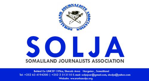 War Deg Deg Ah Ururka Suxufiyiinta Ee Solja Oo Digniin U Diray Wariyeyaasha Somaliland+Arimaha Soo Kordhay.