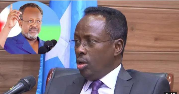 """""""Waxaan ku amaanaynaa Madaxwaynaha Jabuuti inuu wado wadahadalada S/land & Somalia"""" Wasiir.Maareeye"""