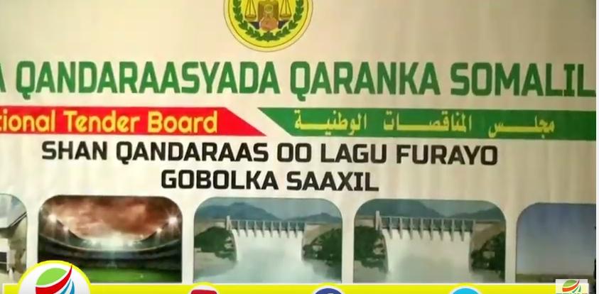 Hargeisa:-Gudiga Qandaraasyada Qaranka Somaliland Oo Berbera Kusoo Bandhigay Shan Mashrruc Oo lagu tartamaayo.