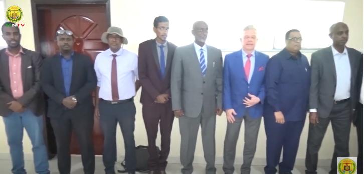 Wafti Ka Socda Dalka Ruushka Oo Kulan La Yeeshay Gudoomiyaha Rugta Ganacsiga Somaliland.