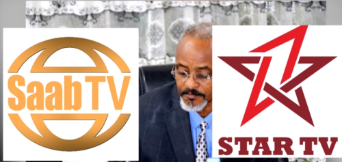 Hargaysa:-Xarunta Dambi Baadhista Somaliland Oo U Yeedhay Telefishanadda SAAB Iyo STAR.