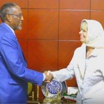 Hargeisa:-Kulan Xaasaasiya Oo Dhexmaray Madaxweynaha Somaliland Iyo Wasiiru-Dawlaha England U Qaabilsan Africa Iyo Qodobada Laga Wada Hadlay.