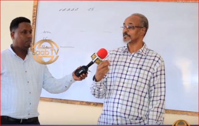 Hargaysa:-Ex Wasiir Guri Barwaaqo Oo Shaqo Cusub Ka Bilaabay Jaamacada Golis Universty Ee Magaalada Hargeisa