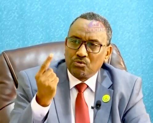 Hargeysa: Daawo Wasiirka Beeraha oo eedihi ugu cuslaa u jeediyey waddani kana hadlay shirki golaha dhexe iyo dhaliilihi xukumada lo jediyey