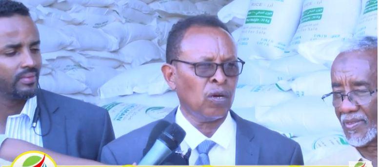 Daawo:Xubno Kamida Golaha Wasiirada Somaliland Oo Kormeer Ku Tagay Xaruunta Kaydka Raashinka Qaranka
