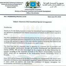 Beesha Caalamka oo Dawladda Somalia ka diiday In La Cuno-Qabateeyo Somaliland Lana Gelin Heshiiska Deeqaha La Baxiyo