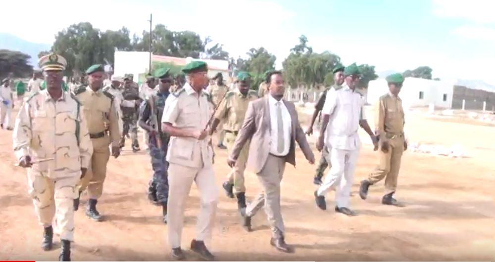 Hargeisa:-Wasiirka Cadaalada Somaliland Oo Xadhiga Ka Jaray Dugsiga Tababrka Ciidanka Asluubta Somaliland.