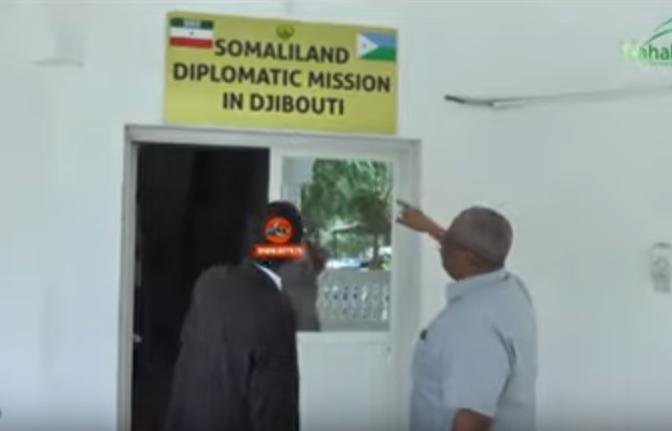 JAbouti:-Guddoomiyaha Maxkamadda Sare oo Booqday Xarunta Safaaradda Somaliland+U Jeedka Socolkiisa.