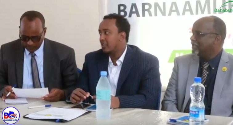 Gudaha:-Wasiirka Gaashandhiga Somaliland Oo Magalada Berbera Ka Furay Barmaamijka Shaqo Qaran.