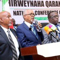 Hargeisa:-Madaxweyne ku-xigeenka Somaliland Oo Furay Shirweynaha Tacliinta Sare Ee Somaliland.