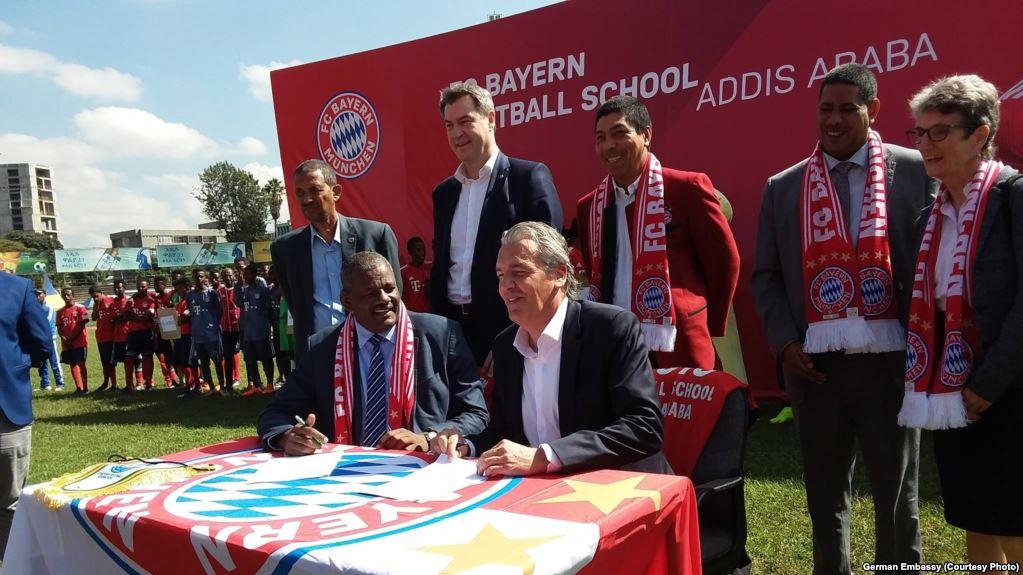 Afrika:Kooxda Bayern Munich Oo Akadeemiyad Ka Fureysa Africa