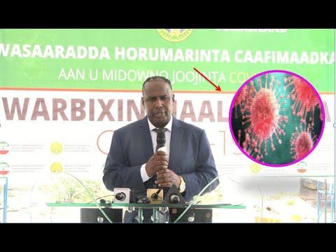 War Deg Deg Ah:-Xukuumada Somaliland Oo Saaka Ku Dhawaaqday kiisas Cusub Oo Xanuunka Covid-19 Ah Iyo Dad U Geeriyoday.